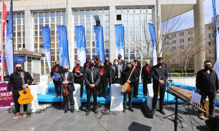 Açık hava konserinde Gaziantep türküleri söylendi
