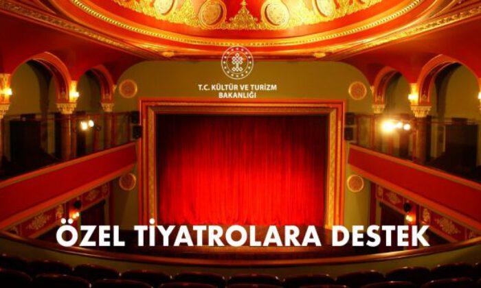 Özel tiyatrolara 14,5 milyon lira destek
