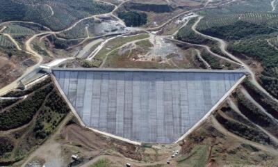 DSİ, Gemlik Büyükkumla Barajı'nda çalışmaları sürdürüyor