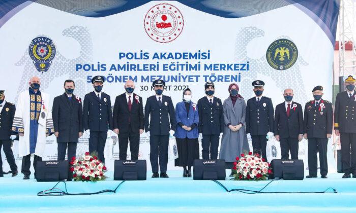 Polis Akademisi'nde 5. dönem mezunlar yemin etti