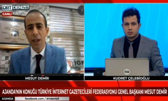 """İGF Genel Başkanı Mesut Demir: """"İnternet Yasası acilen çıkmalı"""""""