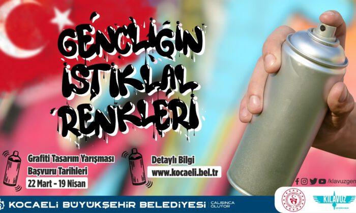 Kocaeli'de grafitiler 'İstiklal' için yarışacak