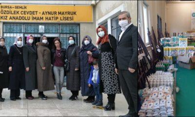 Bursa'da Gemlikli kadınlar Türkiye'ye örnek oluyorlar