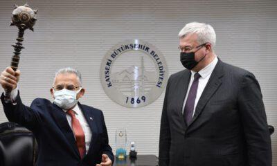 Ukrayna Büyükelçisi'nin Kayseri hayranlığı