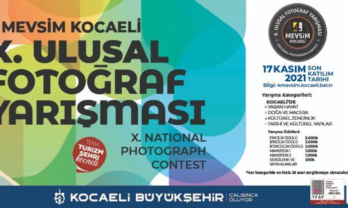 '4 Mevsim Kocaeli' fotoğraf yarışması başlıyor