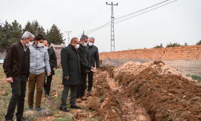 Malatya Yeşilyurt'ta içme suyu hattına deplase