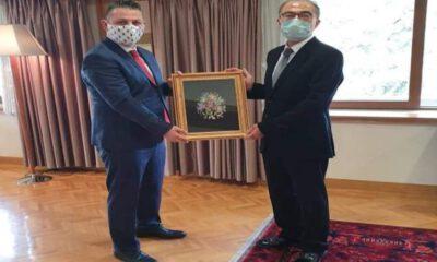 Kilis için Ankara'da temaslarda bulundu