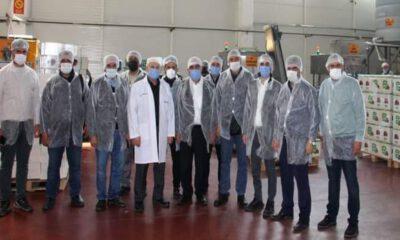 Gazetecilerden Şekeroğlu Baharat'a ziyaret