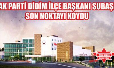 Aydın Didim'de hastane 145 yatak kapasiteli olacak
