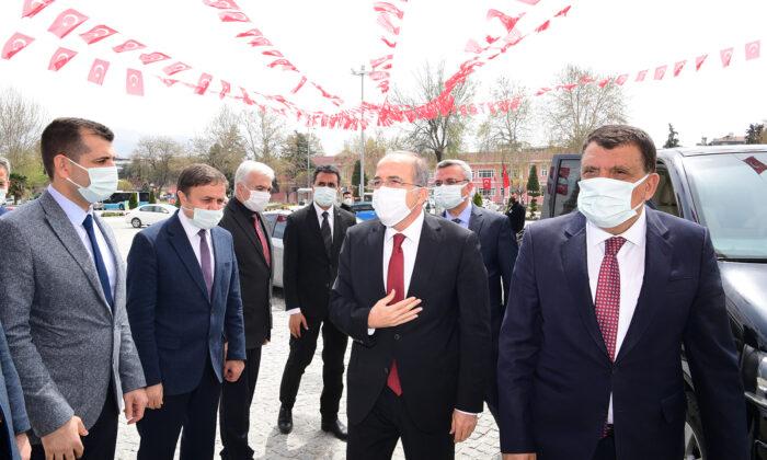 Milli Savunma Bakan Yardımcısı Alpay'dan Başkan Gürkan'a ziyaret