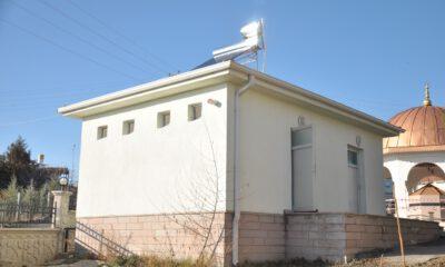 Gölbaşı'nda camilerin suyunu güneş enerjisi ısıtacak
