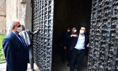 Diyarbakır'da tarihi surlar restorasyonla hayat buluyor