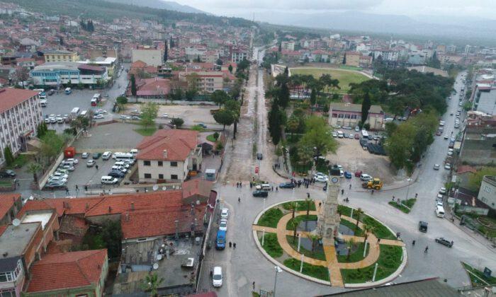 Manisa Kırkağaç'a prestij cadde için start verildi