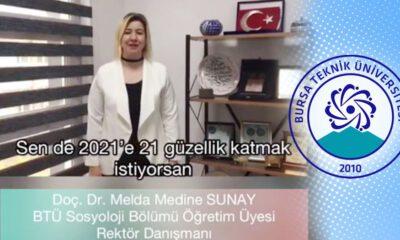 Bursa Teknik Üniversitesi'nden 2021 yılına özel proje