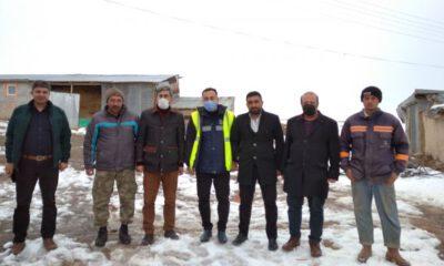 Sivas'ta ÇEDAŞ ekiplerine teşekkür