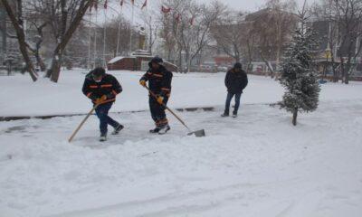 Ardahan'da kar ve tipi etkili oldu