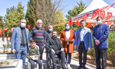 Malatya'da şehit polisler kabirlerinde ziyaret edildi