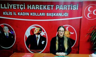 MHP Kilis İl Kadın Kolları Başkanı 'kadına şiddeti' kınadı