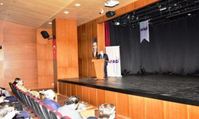 Malatya'da gündem afet eğitimi