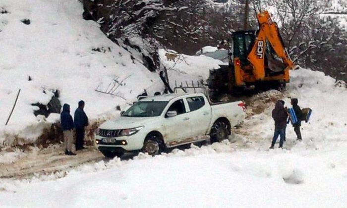 Siirt'te 115 köy yolu ulaşıma açıldı
