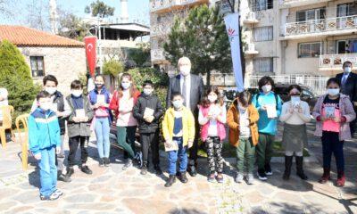 İzmir Karabağlar'da Kütüphaneler Haftası kutlandı