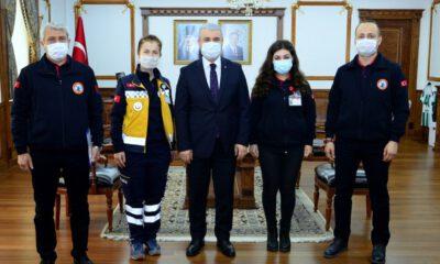 Kırşehir'de 112 Acil'e 307 bin çağrı geldi