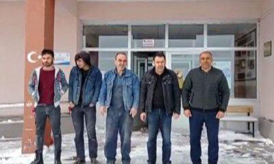 Sivas Beypınar'ında internet ağı kuran ekip mahsur kaldı