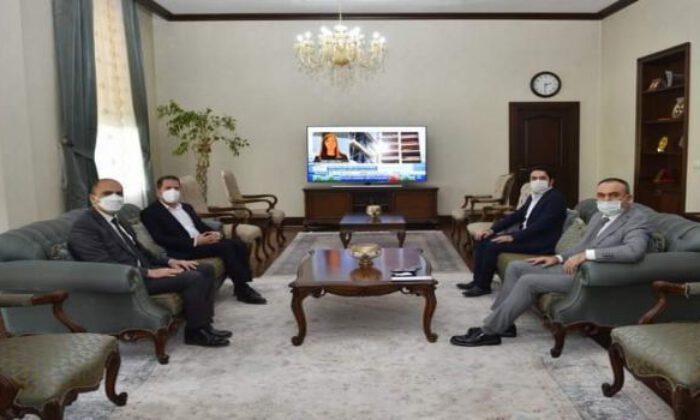 AK Parti'den Kilis Valisi Soytürk'e ziyaret