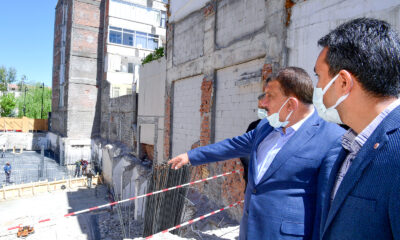 Malatya'da Özel İdare binası yerine iş merkezi