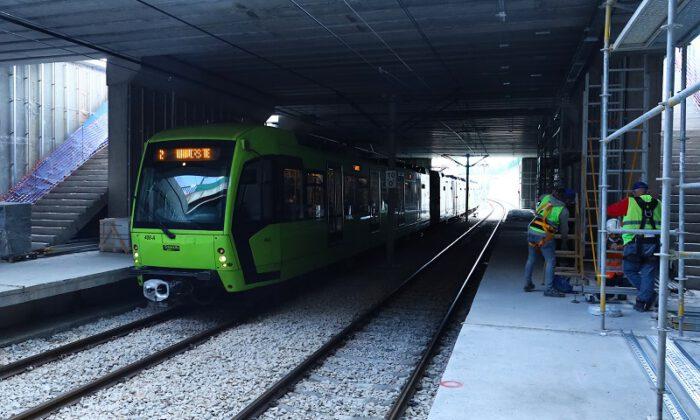 BursaRay'da yeni istasyonda çalışmalar hızlandı