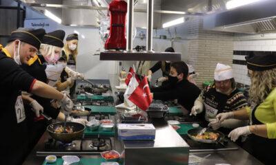 Down sendromlu gençler Bursa'da 'şef' oldu
