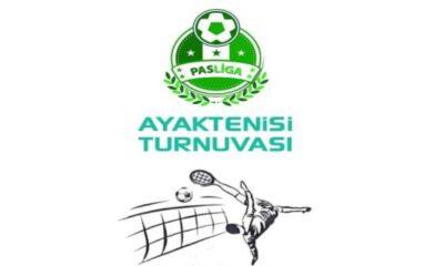 Aydın'da Ayak Tenisi Turnuvası'na başvurular başladı