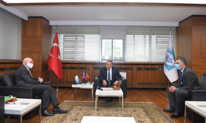 Çek Cumhuriyeti Ankara Büyükelçisi'den Kayseri ziyareti