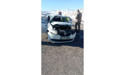 Sivas Gürün'de trafik kazası: 2 ağır yaralı