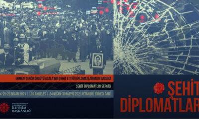 """Cumhurbaşkanlığı İletişim Başkanlığı'ndan """"Şehit Diplomatlar Sergisi"""""""