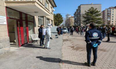 Kayseri Talas'ta haşeratla mücadele eğitimi