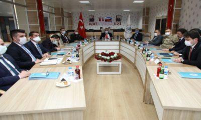 Erzican'da İl Güvenlik ve Asayiş toplantısı yapıldı
