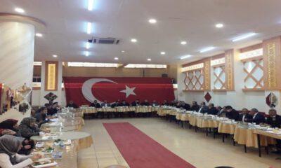Kilis'te MHP'liler teşkilat yemeğinde buluştu