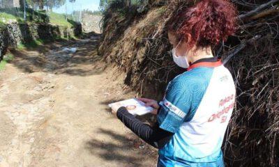 Bergama'da oryantiring yarışlarında ikinci gün