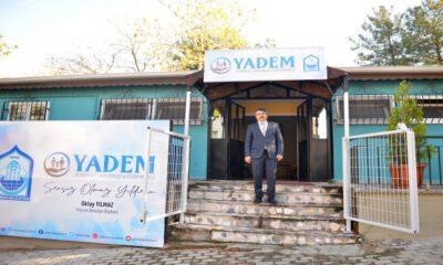 Bursa'da ailelere YADEM ile destek oluyorlar