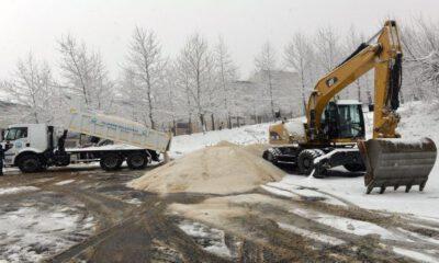 Bursa Yıldırım Belediyesi, kar mesaisine hazır