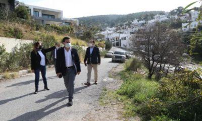 Bodrum Belediye Başkanı'ndan mahalle ziyaretleri