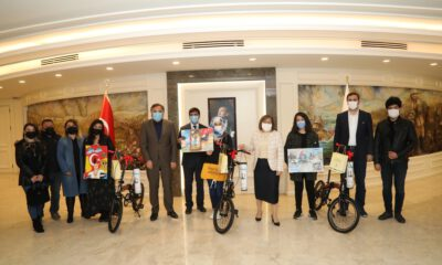 Gaziantep'te 'Çanakkale' temalı resim yarışmasının ödülleri verildi