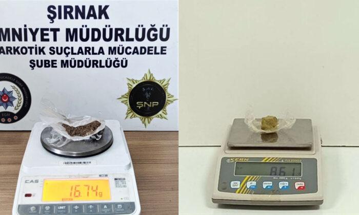 Şırnak'ta narkotik operasyonu: 19 tutuklama!