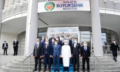 Diyanet İşleri Başkanı Erbaş'tan Malatya ziyareti