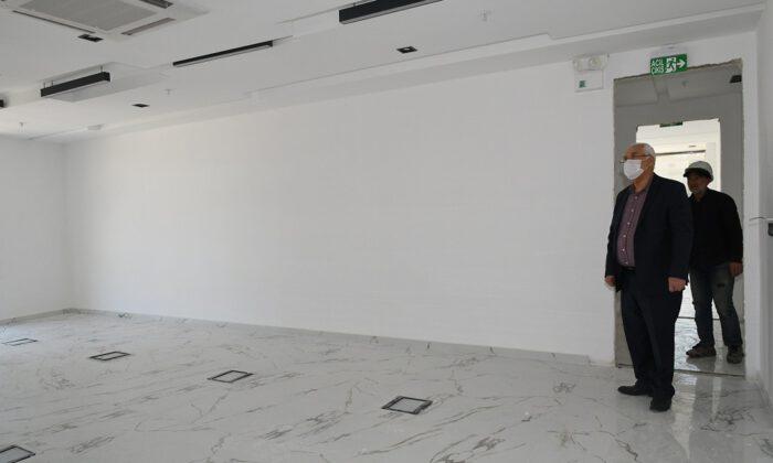 Karabağlar'da Mobilyacılar Eğitim Merkezi'ne geri sayım