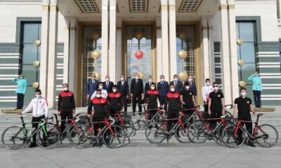 Sakarya'nın bisiklet takımı Beştepe'de