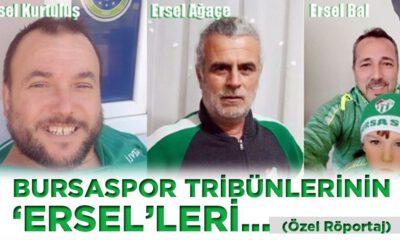 Bursaspor tribünlerinin 'Ersel'leri.. (Özel Röportaj)