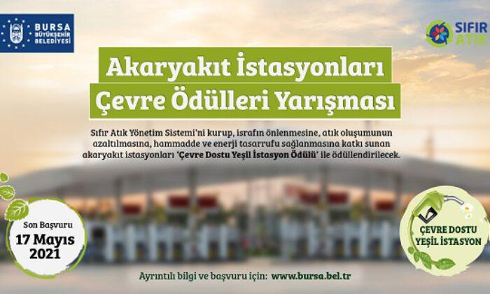 Akaryakıt istasyonları çevre için Bursa'da yarışacak