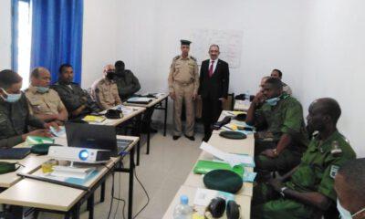 Moritanya Jandarması Türkçe öğreniyor